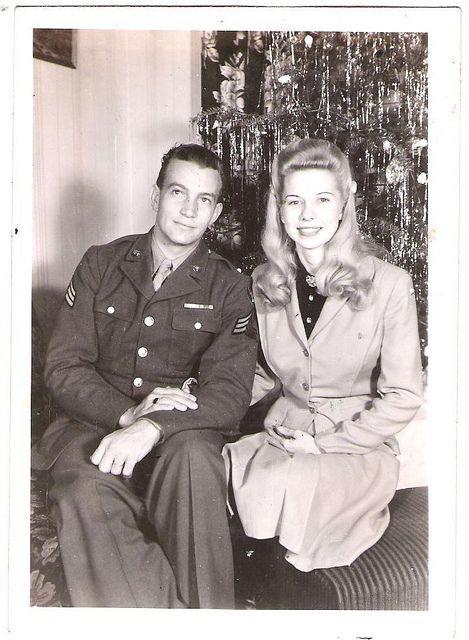 Happy Christmas 1940's