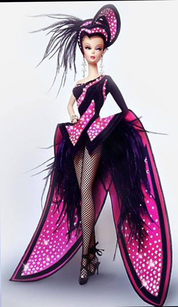 Vintage showgirl Barbie