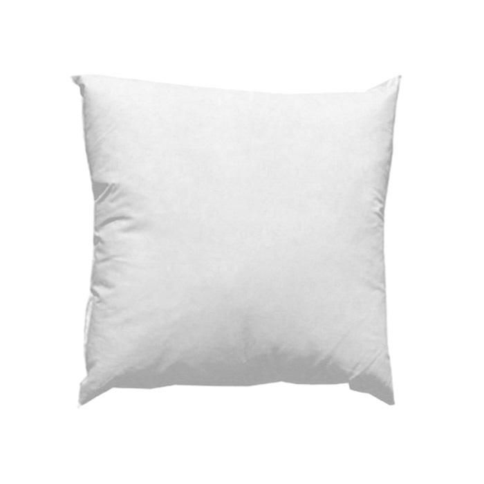 This pillow has 95% grey duck feathers & 5% duck down, it has a cotton protective cover and is washable. Add a little flair and comfort to your rooms with new pillows covered in beautiful fabrics and trimmed elegantly.