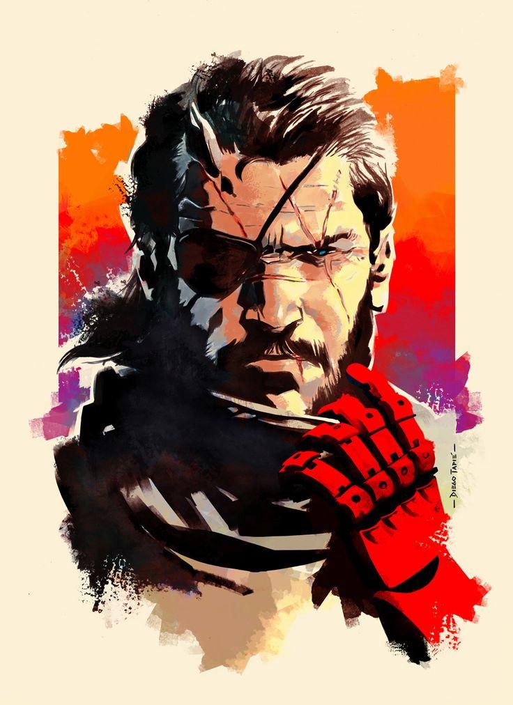Metal Gear Solid V - V has come too - Big Boss