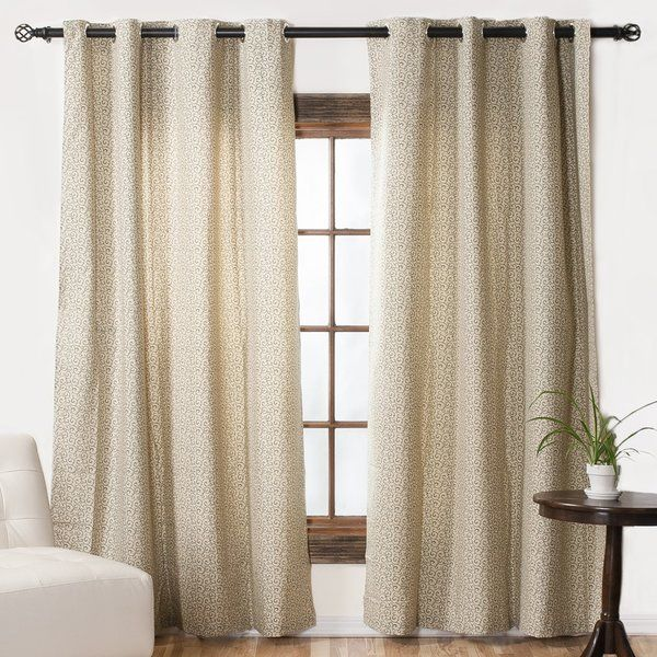 You Ll Love The Solid Blackout Thermal Grommet Single Curtain