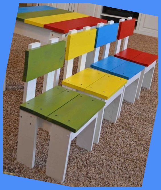 Pallet Made Furniture For Kids Pallet Ideas Pallet Wood