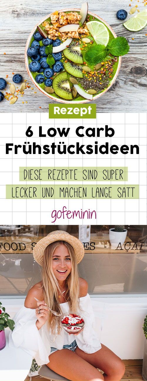 Hier sind 6 geniale kohlenhydratarme Rezeptideen zum Frühstück, die super leckeren S …   – News // Lesestoff