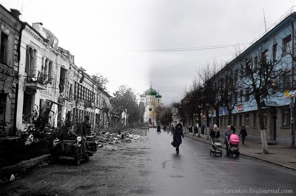 Computational rephotography by Sergey Larenkov.