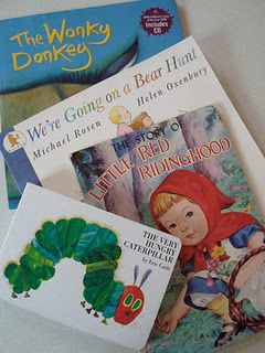 ooh a list of picture Books that are on YouTube - perfect for an ill child. . .