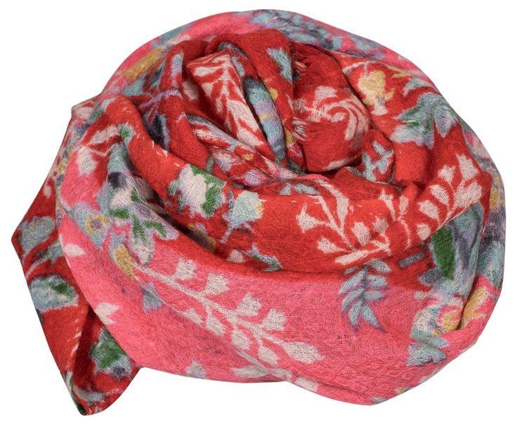 Epice tørklæde blomstret