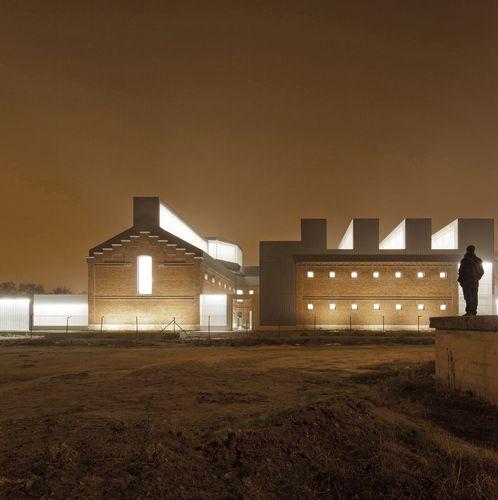 Palencia EXIT architects, Eduardo Delgado Orusco — Rehabilitation of former prison of Palencia As Cultural Civic Center   Spain