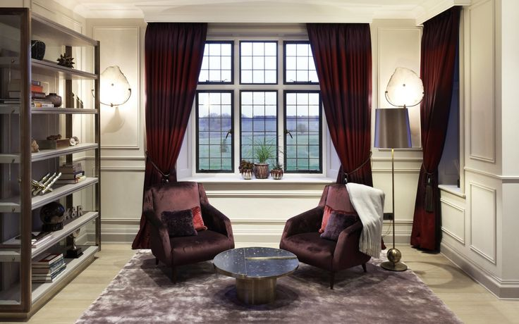 Framing a window view - good curtain design and planning can enhance a view (note how virtually none of the glazed area is blocked by the draperies) »« Interior Desires UK