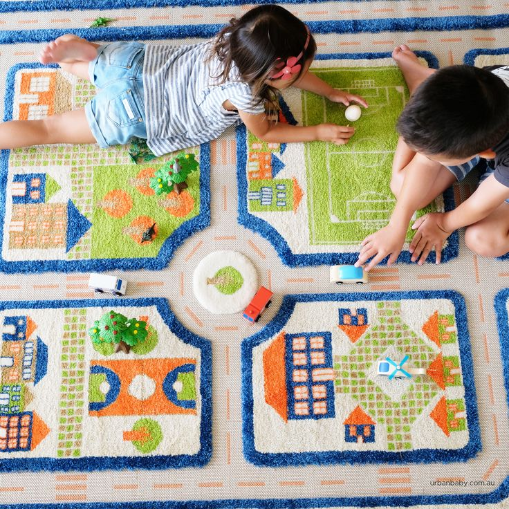3D interactive play rugs that allow your child's imagination to run wild.