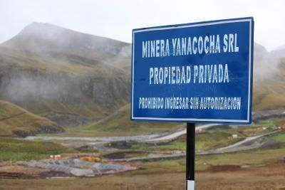 Perú: Multan a minera Yanacocha por incumplir compromisos ambientales