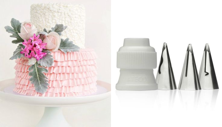 How to make a ruffle cake WITH NEW TIPS! - CAKE STYLE ...
