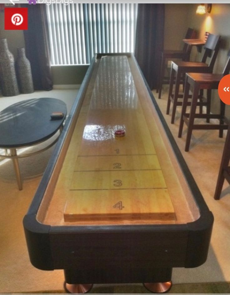 160 best images about Game Room on Pinterest  Shuffleboard table