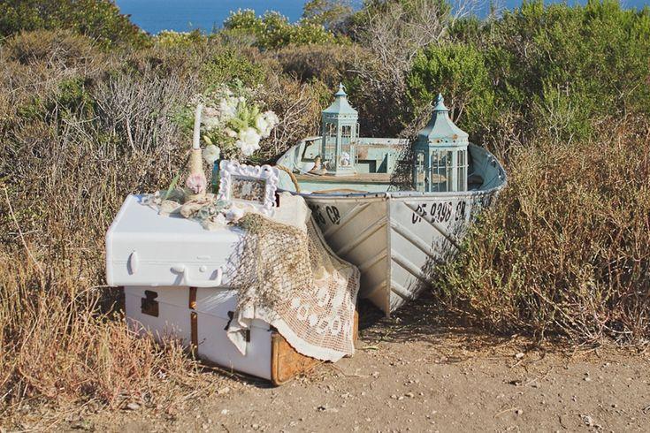 Shabby Chic Nautical Wedding Inspiration