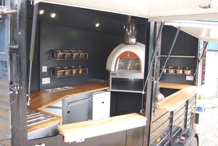 Pizza Horse Box Interior