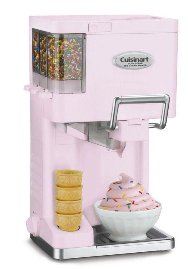 Machine a glaces a l'italienne cuisinart