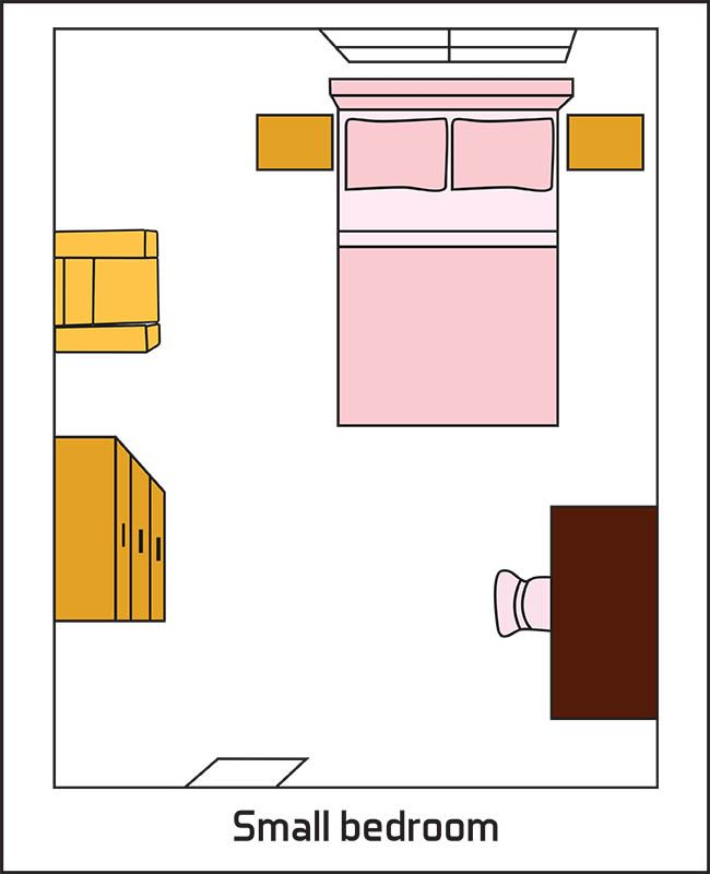 Bedroom Layout Ideas  Design Pictures. The 25  best Small bedroom layouts ideas on Pinterest   Bedroom