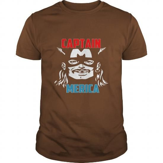 I Love Captain Merica Drinking Independence Day T-Shirts