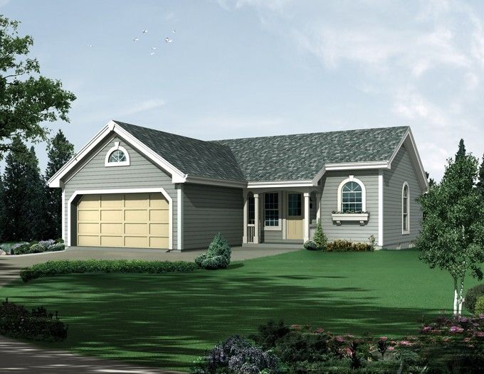 ePlans Traditional House Plan – The Ideal Affordable Home – 1102 Square Feet and 3 Bedrooms from ePlans – House Plan Code HWEPL76213