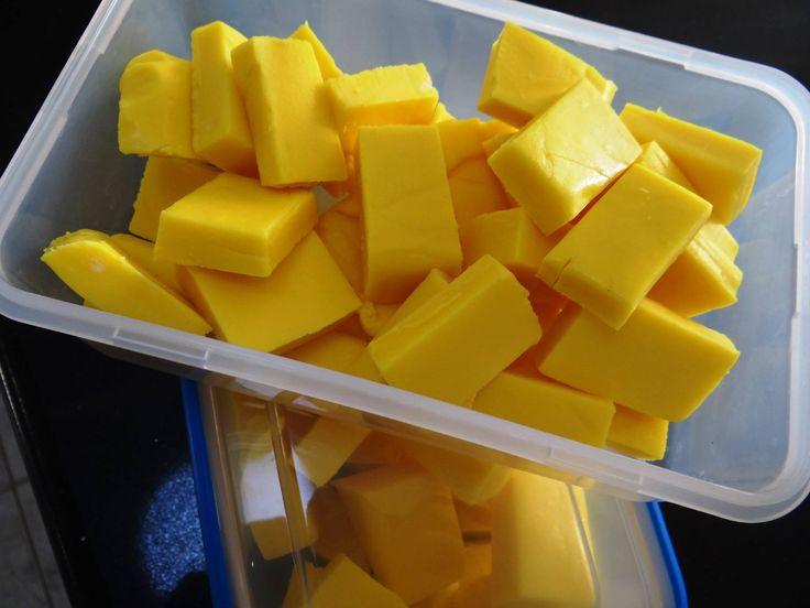 Yellow Banana Fudge |