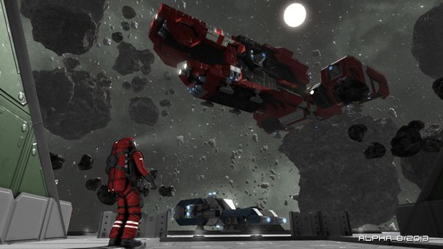 Dedicated Server Support for Space Engineers