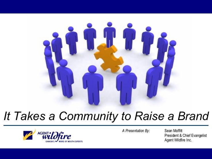 it-takes-a-community-to-raise-a-brand-not-a-campaign-presentation by Wikibrands via Slideshare