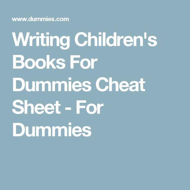 Get Writing a Novel and Getting Published For Dummies PDF