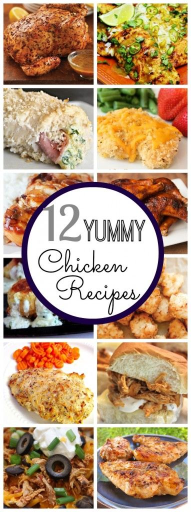 Yum! These Chicken Recipes look so good!