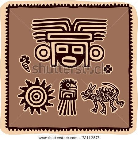 mexican-design-elements-aztec-american-indian