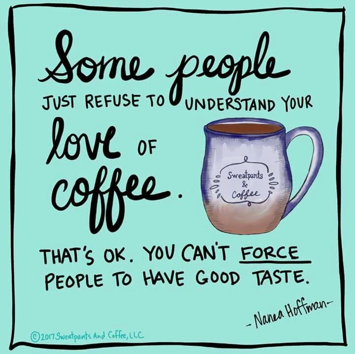 Coffee lovers understand