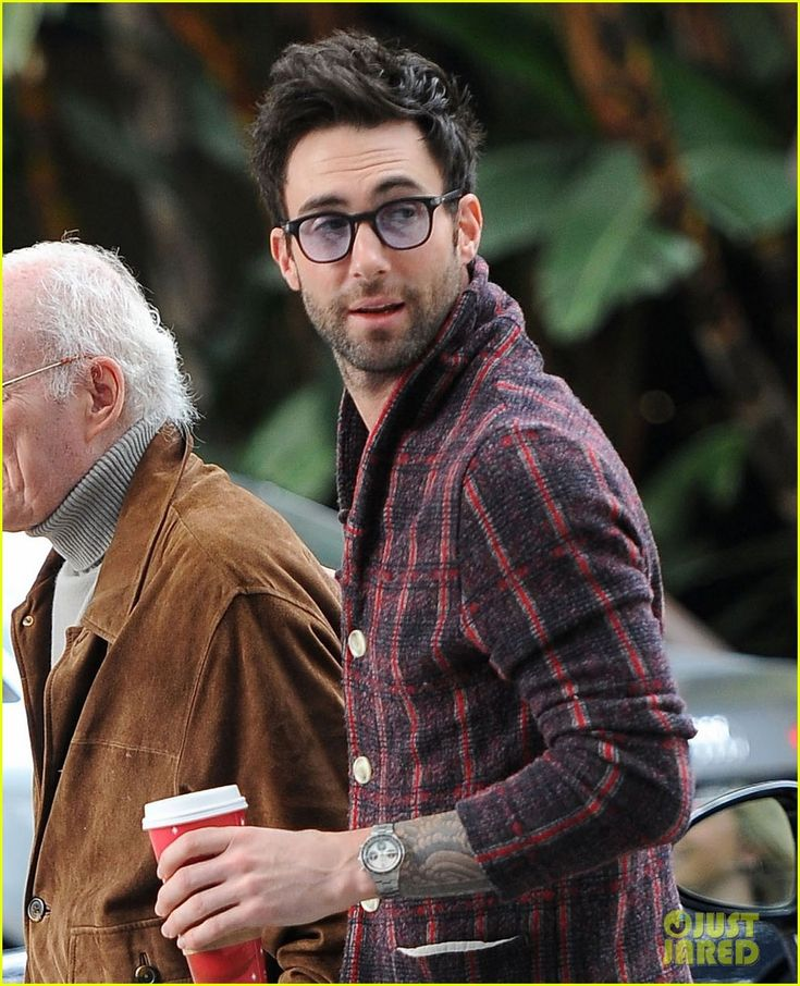 Adam Levine You Wear Glasses You Have Facial Hair And
