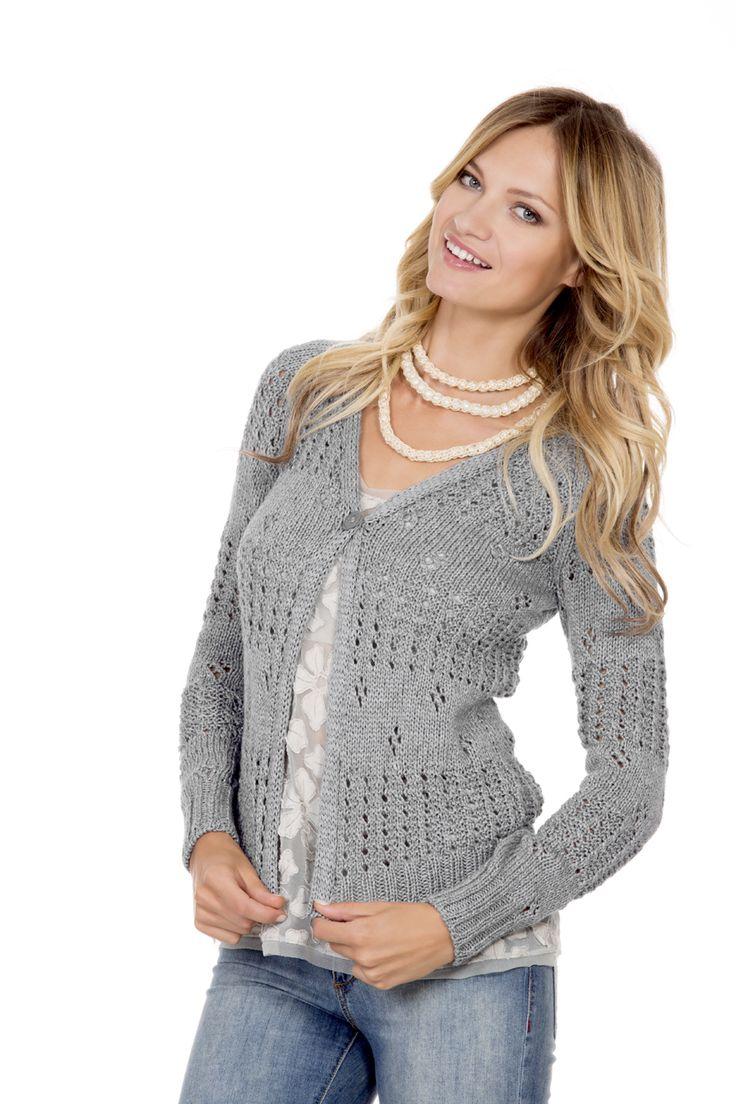 #cashmere #cotton #lanemondial #yarns #new #model #magazine #springsummer 2016 #filatimondial #primaveraestate scopri tutti i modelli sul nostro sito un'anteprima...