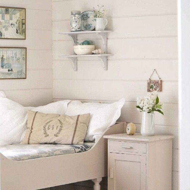 Sommerhus med bleke toner