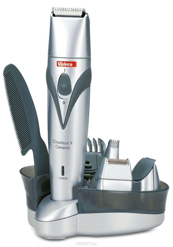 Valera 625.01 Contour X Ceramic, Silver машинка для стрижки волос и бороды
