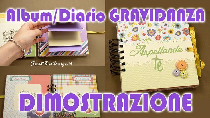 Dimostrazione: Album/Diario Gravidanza - Demo Pregnancy Diary/Album