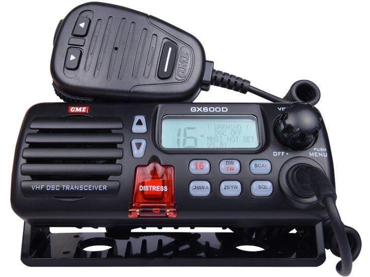 GX600DB VHF Marine Radio with DSC - Black