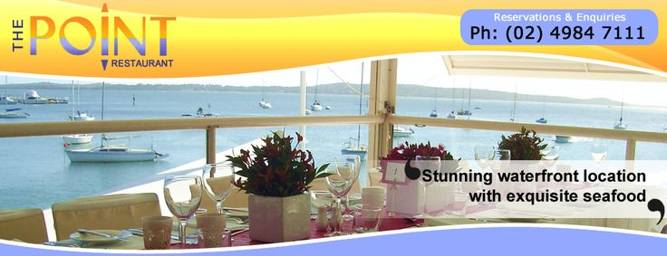 The Point Restaurant - Soldiers Point, Port Stephens