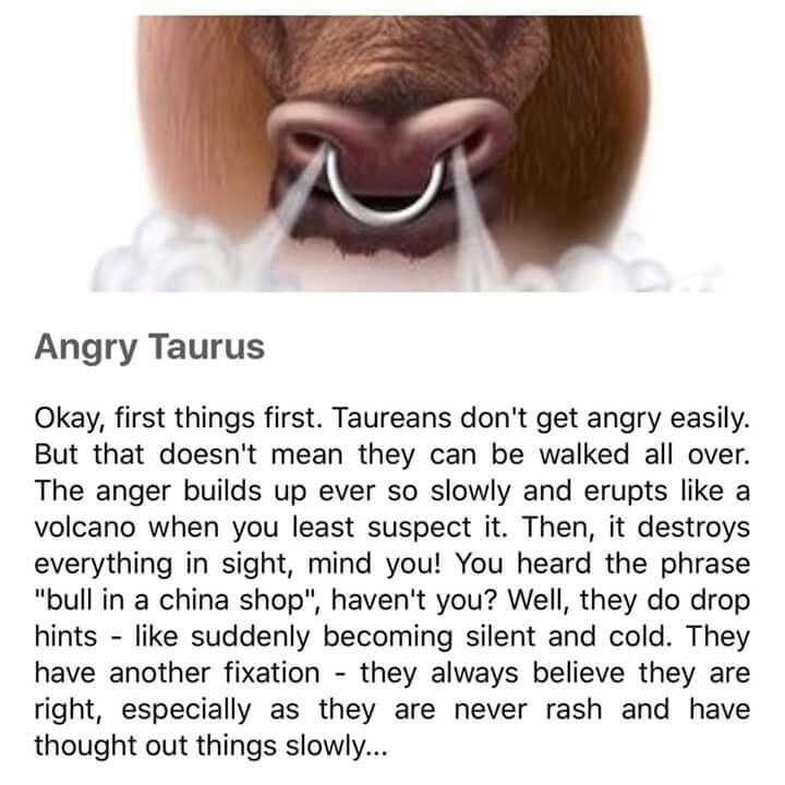 Taurus No special/hidden meaning p, just a true statement about me.
