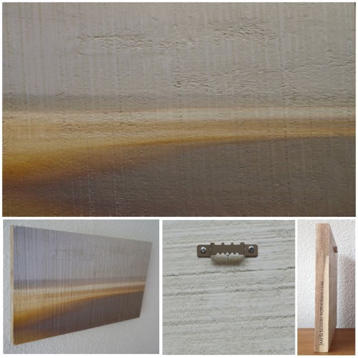 A LIGHT BREEZE AFTER THE RAIN - Foto op hout, Photo on wood, print, afdruk, acaciahout, FSC keurmerk