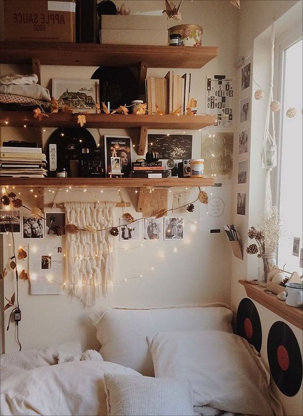 30 Chic Boho Bedroom Decor Ideas That Will Get You Excited Dorm Aesthetic Boho Bedroom Boho Bedroom Decor Bedroom Decor