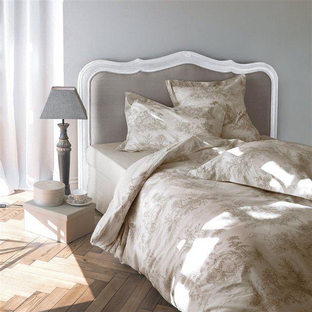 Habillez votre lit dune tête de lit sydia de style et plongez votre chambre