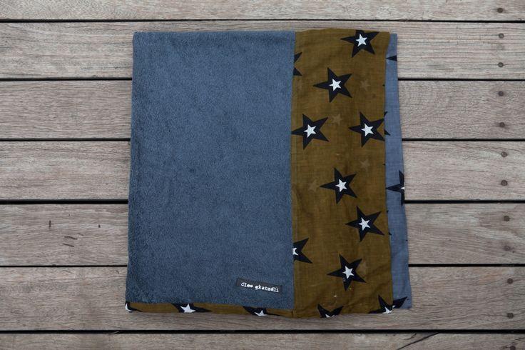 ARMY STARS Beach Towel by Cleo Gkatzeli