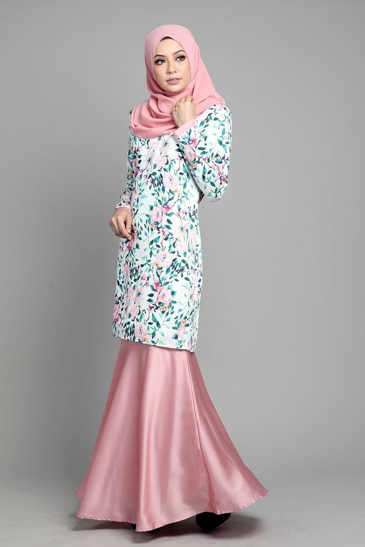 Kurung Arielle in Pink Blush . Aidiladha Collection . http://www.lovelysuri.com