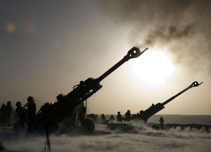 M777, 155mm Towed Howitzer