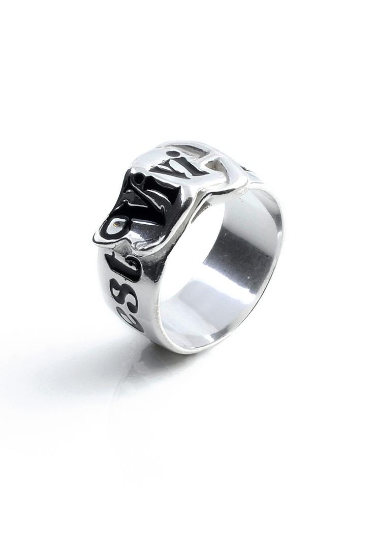 Belt Ring Silver by Vivienne Westwood