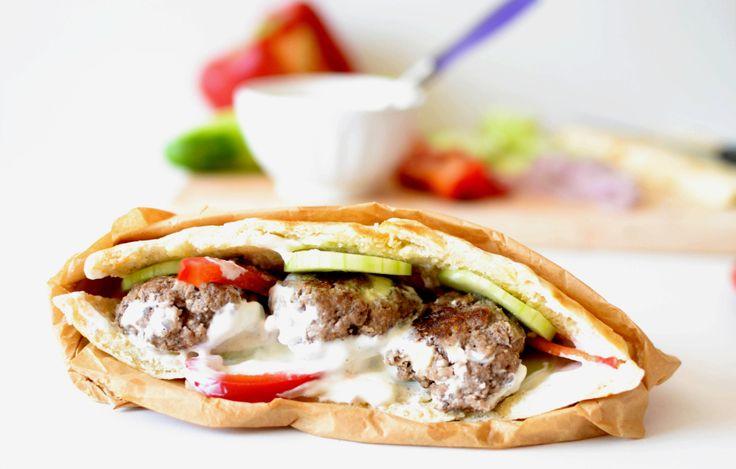 lepinje – Pita aux boulettes de viande hachée à la feta – Semaine spéciale ex-Yougoslavie