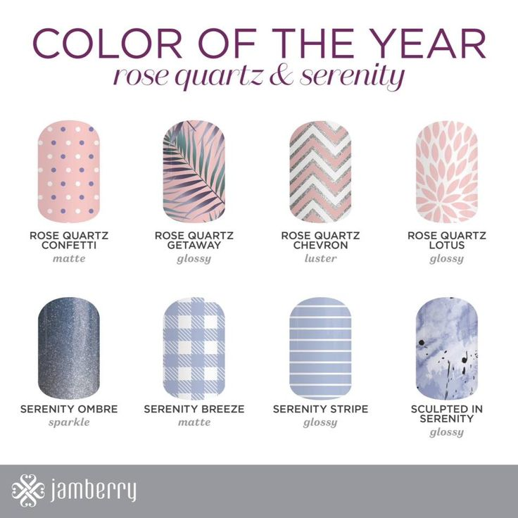 Jamberry 2016 Colour Wraps of the year - Wraps Available at http://thenailchest.jamberrynails.com.au