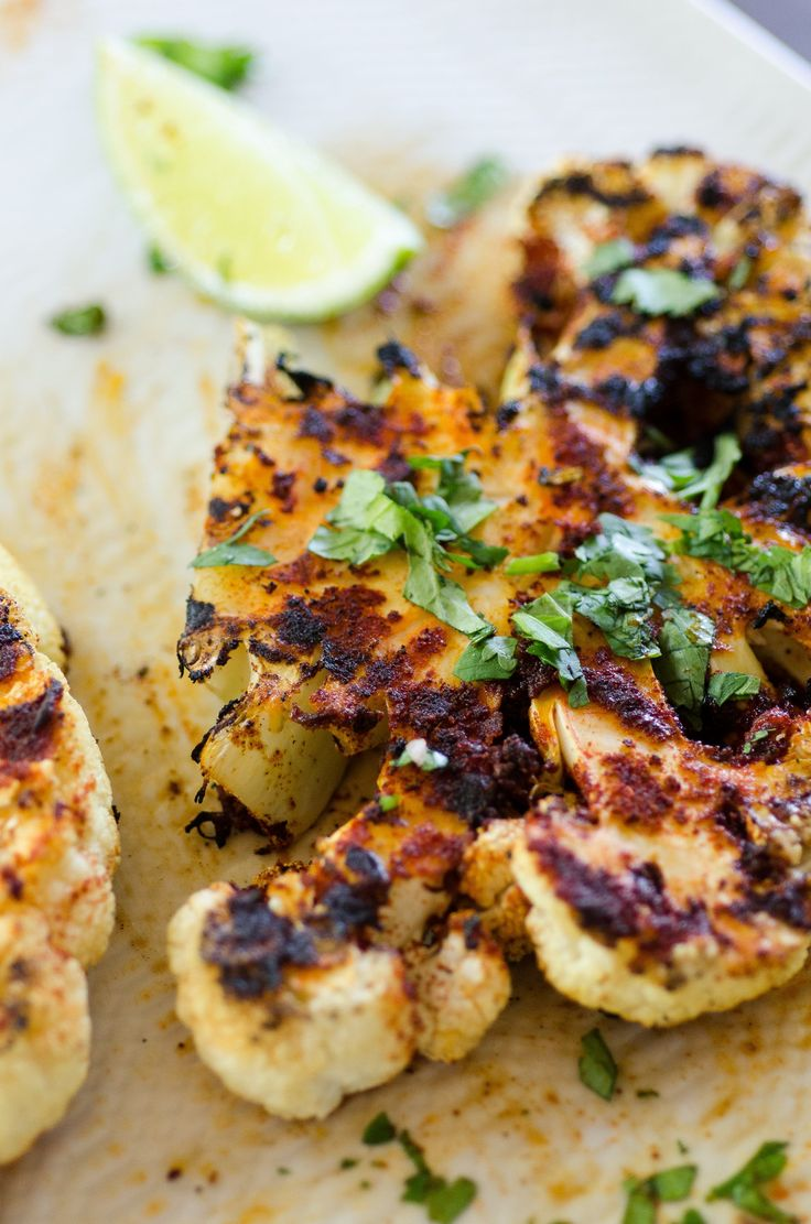 Recipe: Grilled Chipotle Lime Cauliflower Steaks — delicious and intriguing!