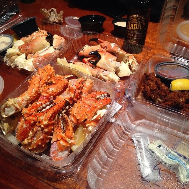 Grilled King Crab Legs ❤️ Stone Crabs ❤️ Fried Oysters ❤️Manhattan Clam Chowder