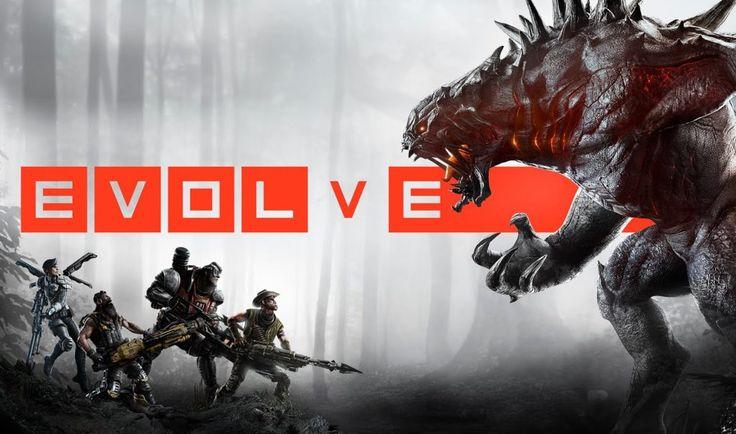 Evolve jako jedna z najfajniejszych gier MMO w sieci. // Evolve as a one of the best MMO games