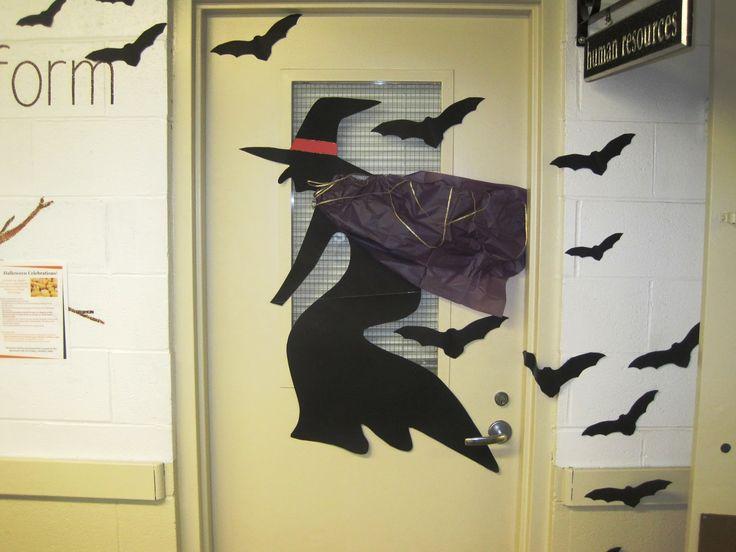 Go Back > Images For > Halloween Office Door Decorations